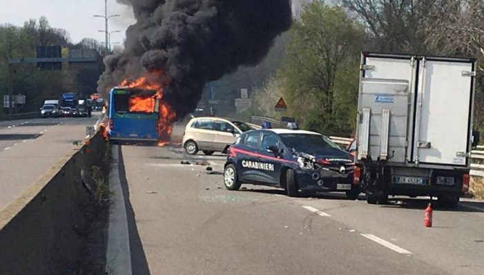 "Muslim Bus Driver Abducts 51 School Children Then Sets Bus Ablaze in ""Migration Protest"""
