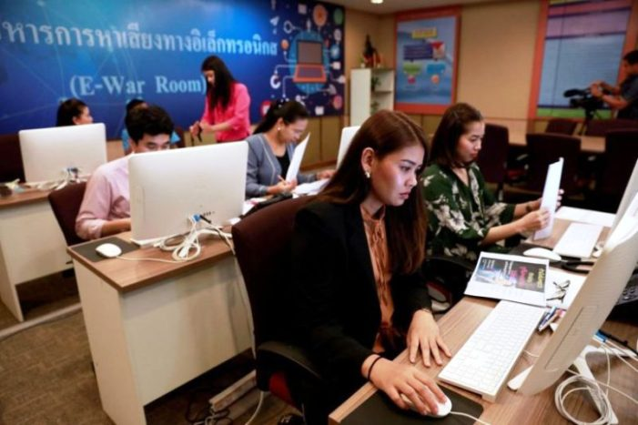 """Thailand's Electoral Commission's """"Cyber E-War Room"""" Scours Social Media for Computer Law Violations"""