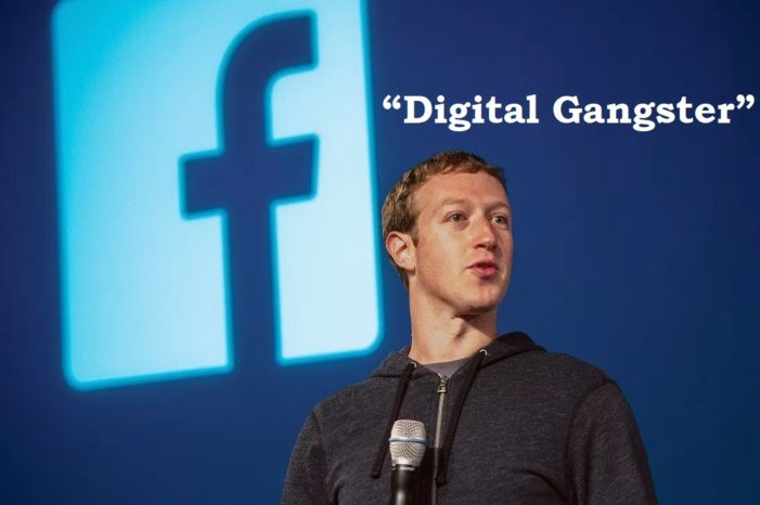 "British Lawmakers Brand Facebook and Other Tech Firms ""'Digital Gangsters"""