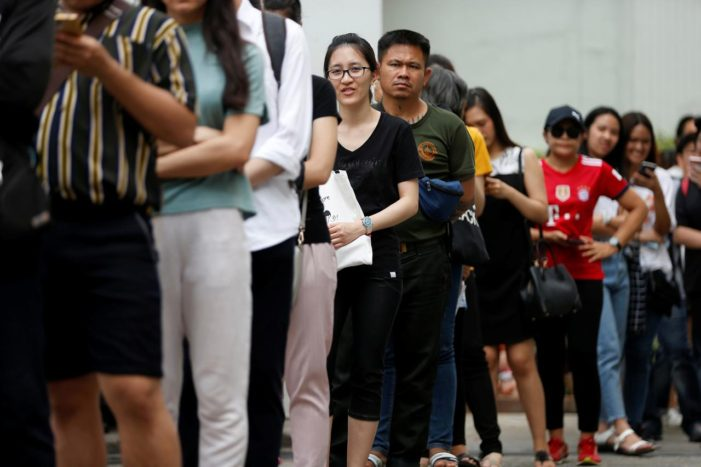 """Thailand's Election is a """"Referendum on Democracy"""" as Voters Flock to Early Polls Voting"""