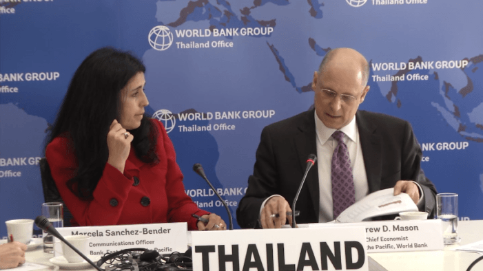 World Bank Slashes Thailand's 2019 GDP Growth to 3.8 Percent