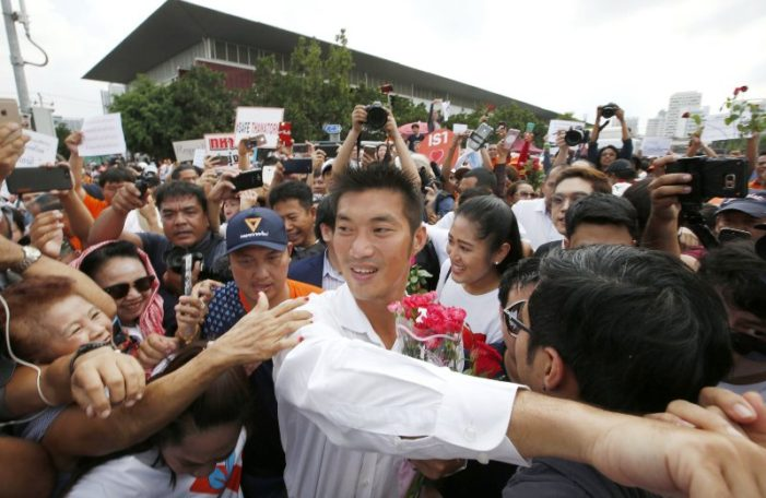 """Thailand's Future Forward Party Leader Thanathorn to Be """"Tried for Sedition"""" in Military Court"""