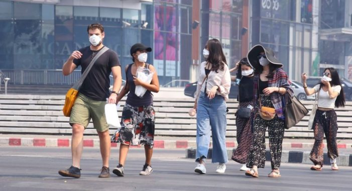 Thailand's Prime Minister Orders Officials to Solve Toxic Haze Problem in Northern Thailand in Seven Days