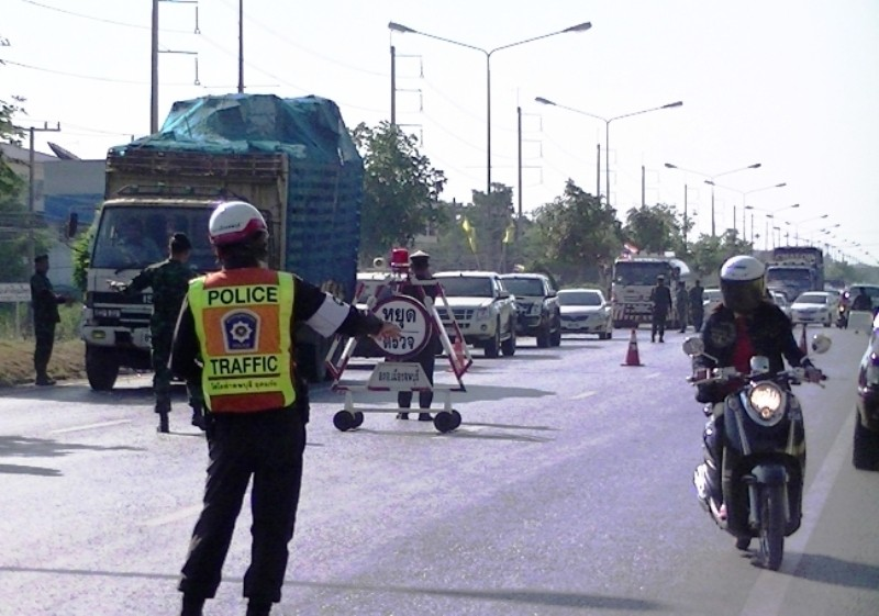 Over 900 Vehicles Seized from Drunk Drivers in the First 2 Days of Songkran