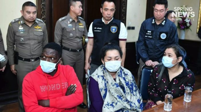 Cameroonian Football Player Busted for Online Email Scam in Chiang Mai