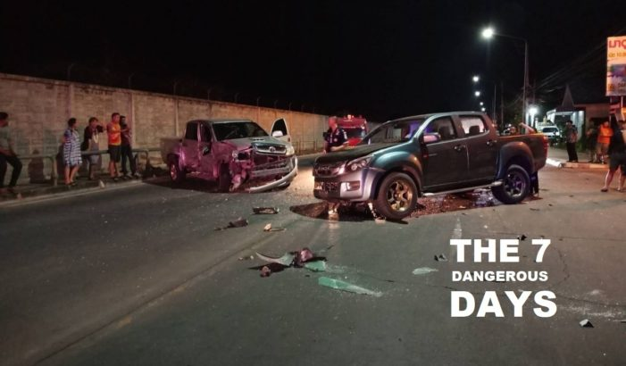 Sixth Day Road Toll for Songkran 2019 – 348 Dead, 3,176 Injured and 3,068 Traffic Accidents