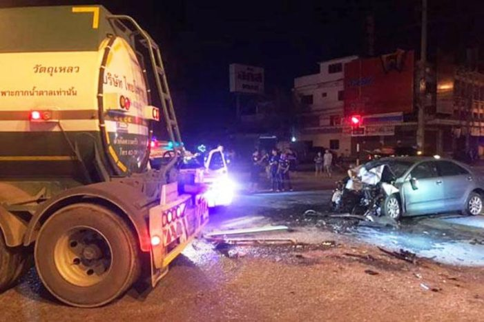 42 year-old Dutchman Killed after Ramming into the Rear of an Oil Tanker in Western Thailand