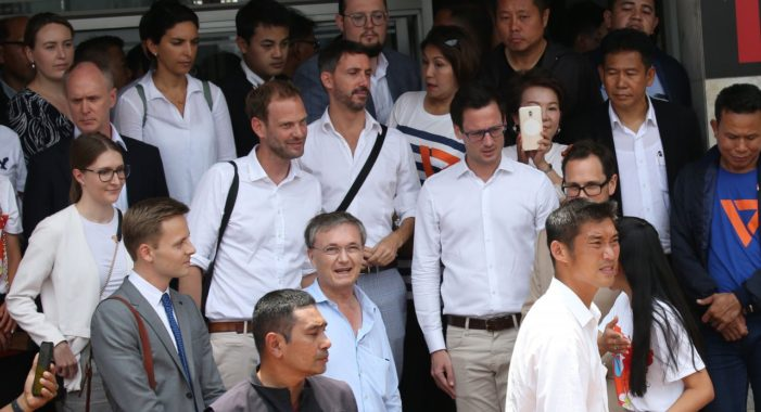 Thailand's Foreign Minister Rattled as Foreign Envoys for Accompanying Thanathorn to Hear Charges of Sedition