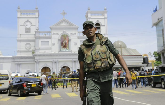 Muslim Extremists Kill More than 200 Christians on Easter Sunday in Sri Lanka