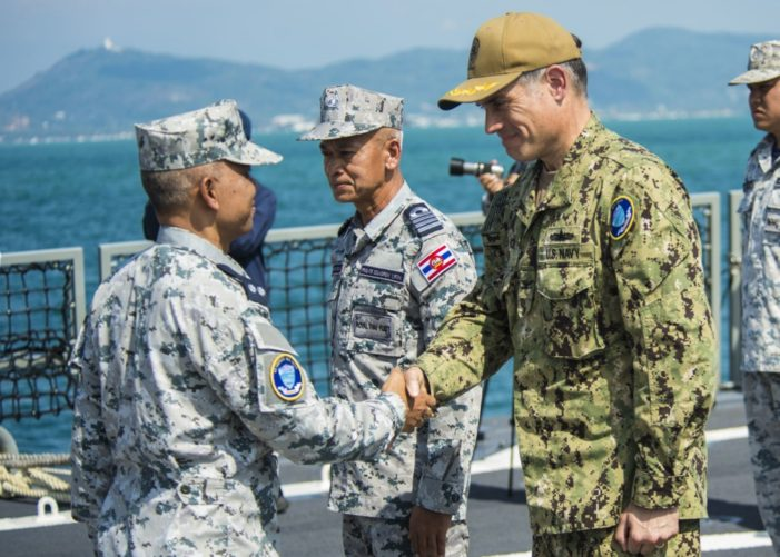 Thai, US Navy's Conduct Joint Anti-Submarine Exercise in Andaman Sea