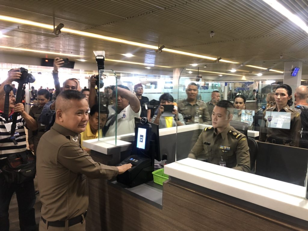 Thailand's Immigration Introduces Facial, Fingerprint Biometrics Recognition Systems at Points of Entry