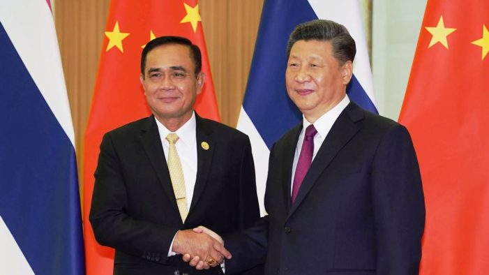 Thailand's Junta Pushes China's Belt and Road Initiative Despite Differing Visions