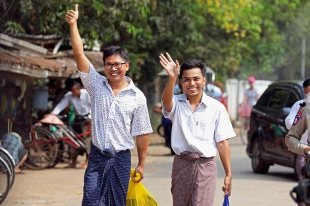 Myanmar Frees Reuters Journalists Convicted of Breaking the Official Secrets Act