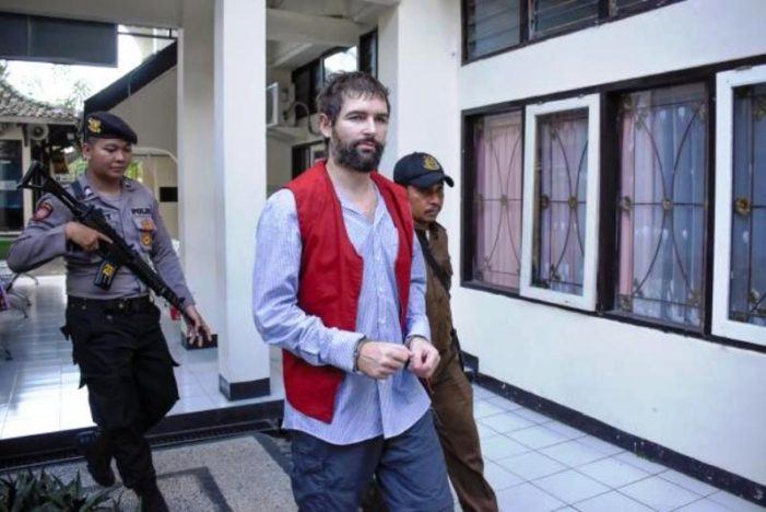 35 Year-Old Frenchman Sentence to Death by Firing Squad for Smuggling Drugs