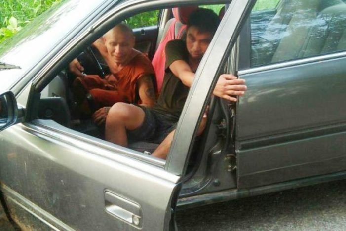 Monks Behaving Badly – Police Hunt for Drunk Driving Monk in Northeastern Thailand