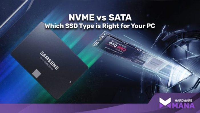 NVMe vs SATA SSD  Which is Better for Gaming