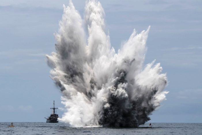 U.S Navy and Royal Thai Navy Conclude CARAT Thailand 2019