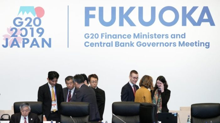 G-20 Finance Officials of 20 Countries Pledge to Protect Globalism
