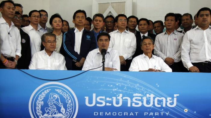 "Thailand's ""Undemocratic"" Democrat Party Joins Pro-Regime Alliance, Claims of Cobra Offers"