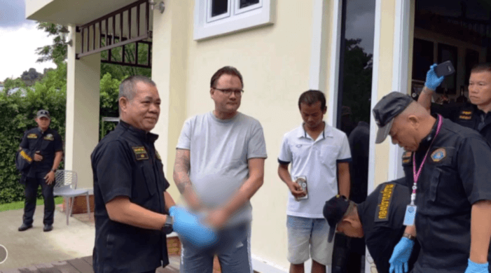 Swedish Man Arrested on the Island of Koh Chang, Thailand on Interpol Red Warrant Issued By US Authorities