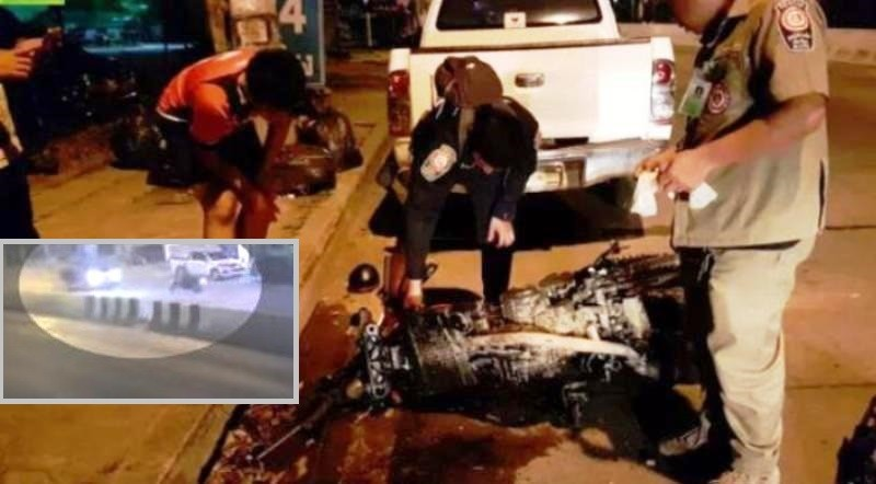 Canadian, Thai Girlfriend Killed Instantly in Motorcycle