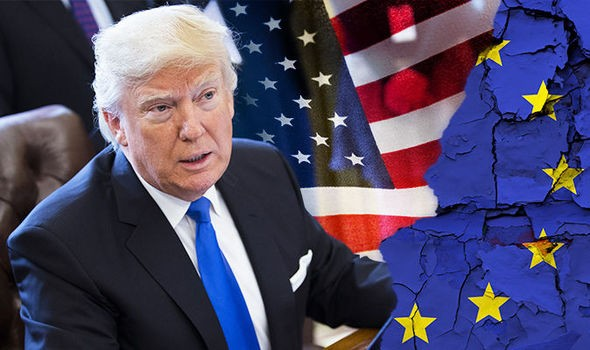 President Trump Says Briton Should Just 'Walk Away' and Refuse to Pay EU's 39 Billion Pound Extortion Bill