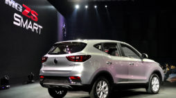 Chinese-Thai Joint Venture the MG ZS-EV a New Energy Vehicle Built in Thailand