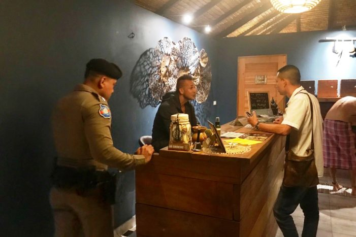 Thai Police Detain Slovakian Man for Operating Unlicensed Spa and Visa Overstay on Koh Phangnan