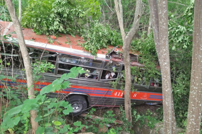 Thirty Students Injured After School Bus Crashes into Ravine in Eastern Thailand