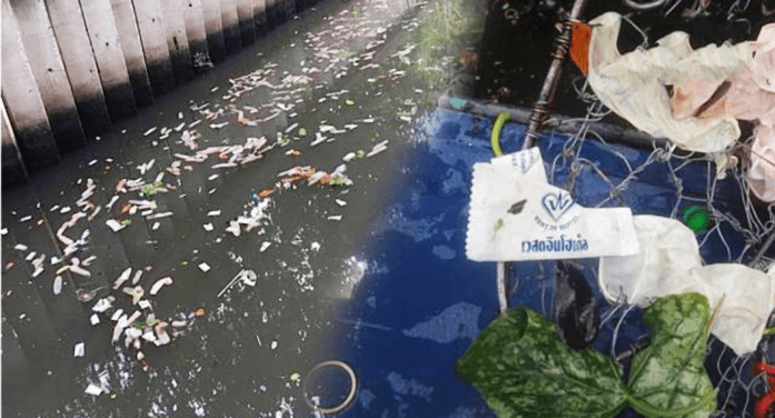 Bangkok Hotel Busted for Dumping Used Condoms and Toiletry Items into Canal