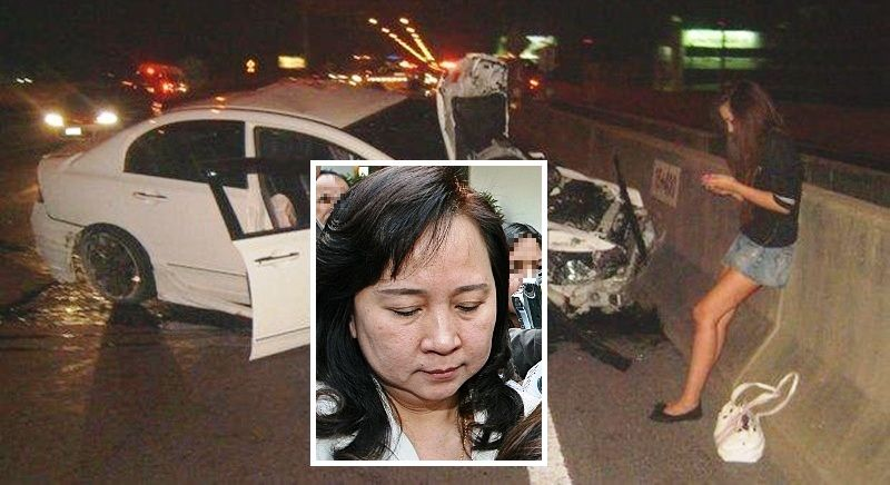 """Mother of """"Praewa"""" Thephasadin Promises to Pay Crash Victims"""