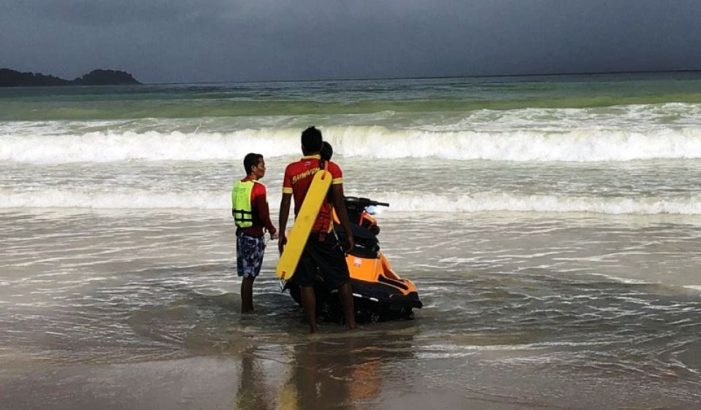 Two Filipino Tourists Swept Out to Sea in Phuket Remain Missing
