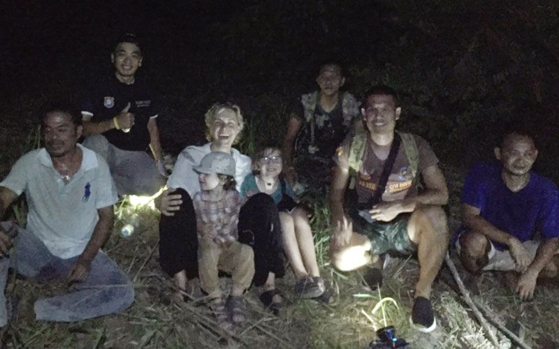 Polish Family Rescued from the Jungle in Southern Thailand