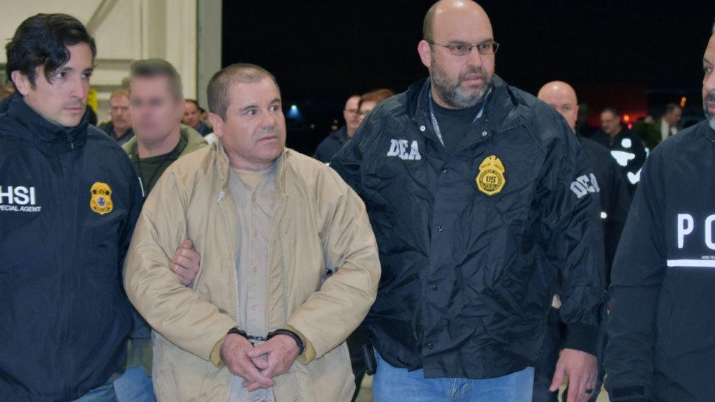 """Notorious Mexican Drug Kingpin """"El Chapo"""" to Life in US Prison"""