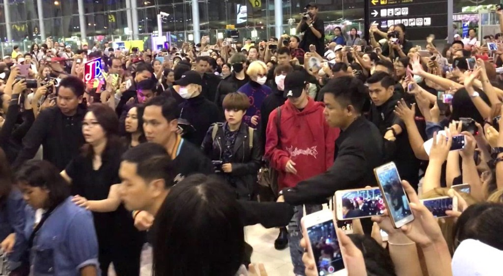 Thailand's Suvarnabhumi Airport Gets Strict With K-Pop Fans