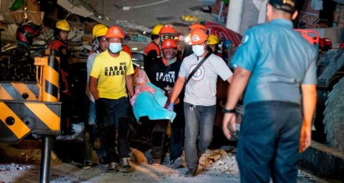 Two Strong Earthquakes Kill at Least Eight People in Philippines