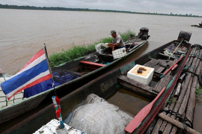 Record Low Mekong River Levels Raise Suspicions About China
