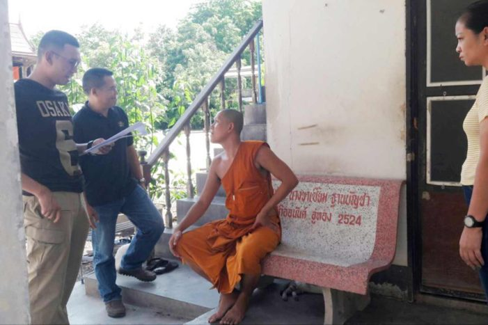 Thai Monk Arrested for Alleged Rape that Happened 16 Years Ago
