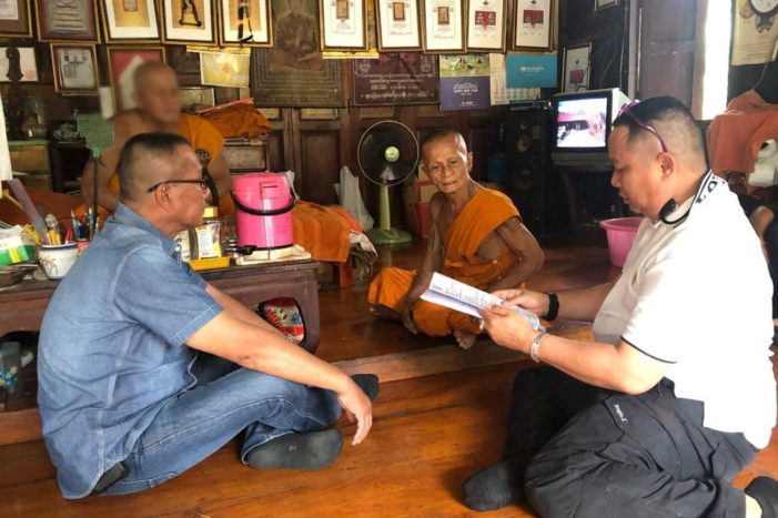 81 Year-Old Thai Monk Arrested for Rape of Teenage Girl