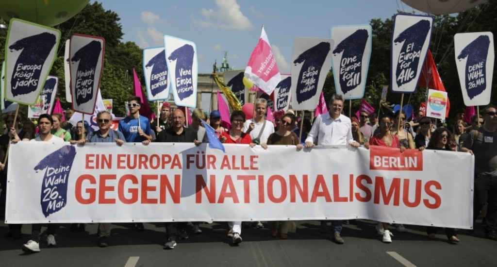 Right-Wing Nationalism is on the Rise in Throughout Europe