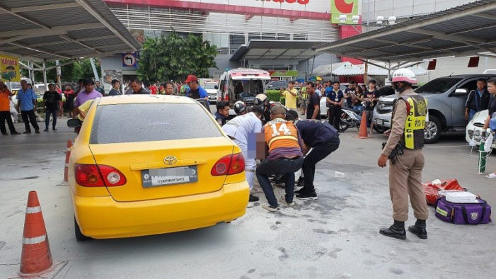 Taxi Driver Sets Himself on Fire in Central Thailand
