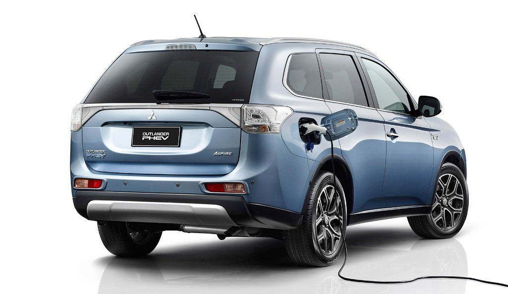 Mitsubishi Outlander PHEV Plug-in Hybrid to Be Made in Thailand