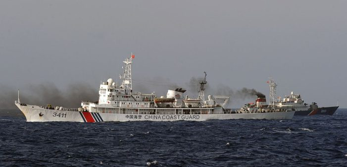 Chinese Coast Guard Ships Violate Vietnam's Sovereign Waters