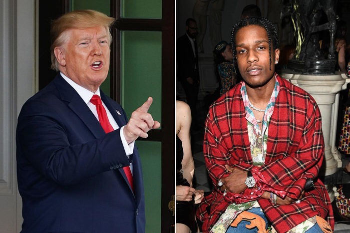 President Trump Sends US Ambassador to Attend A$AP Rocky's Trial