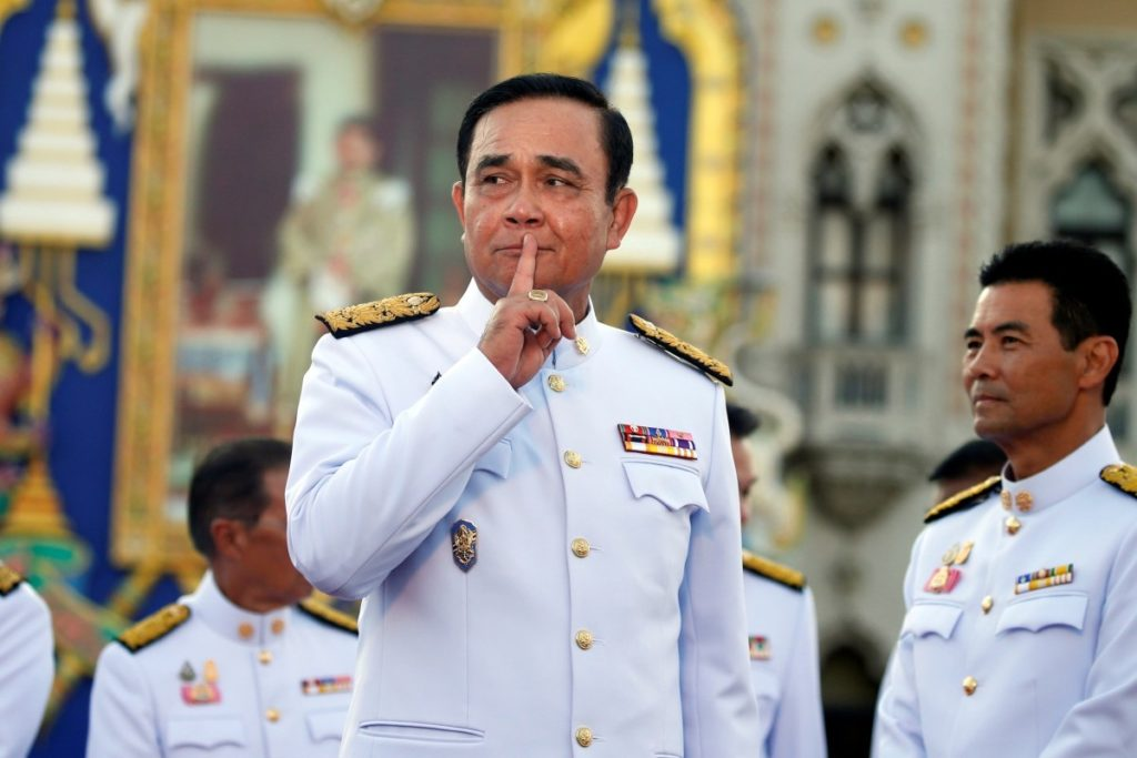 Thai Military Files Sedition Charges Against Opposition Leaders