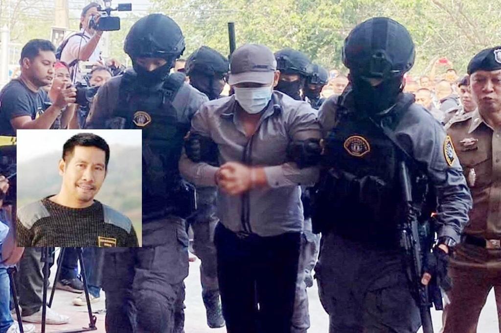 Gold Heist suspect Thailand