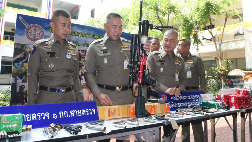 firearms sales bangkok