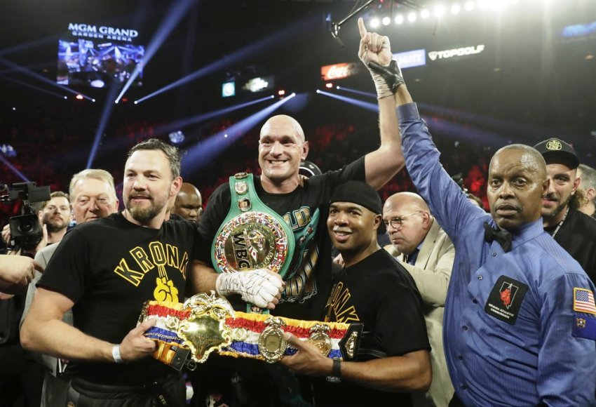 WBC Tyson Fury