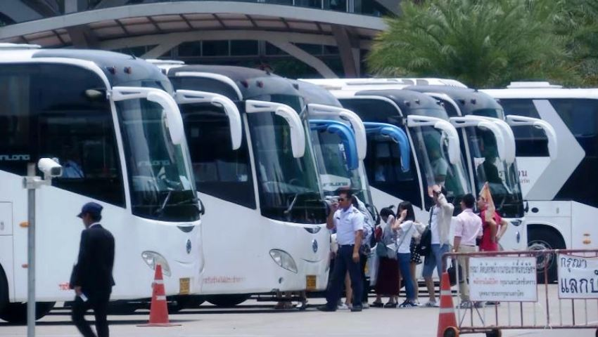 tour bus layoffs coronavirus