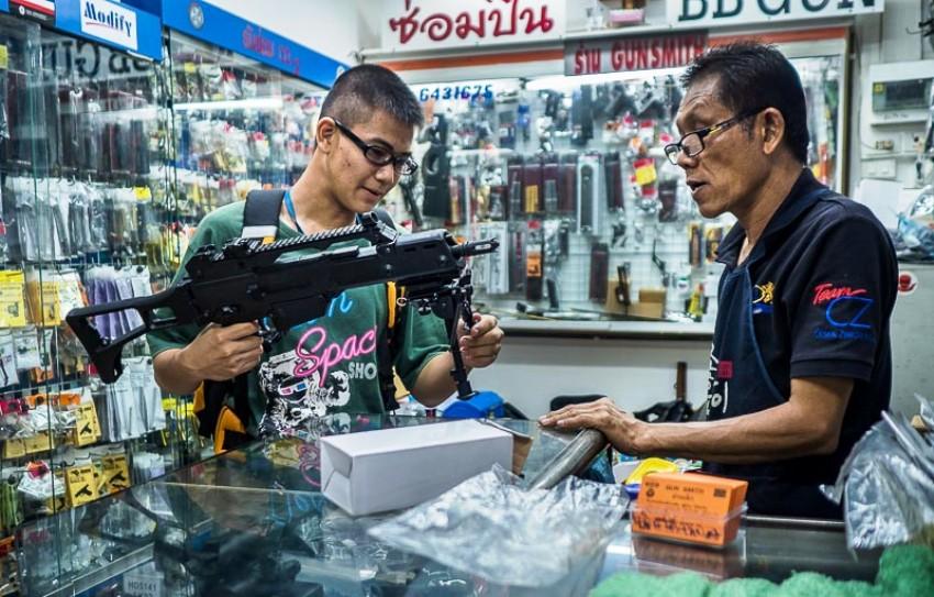 Gun Culture Thailand
